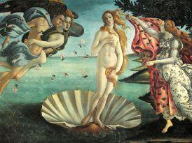 Botticelli, 'De geboorte van Venus'